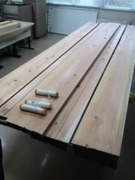 杉板と擦る用の萱です.JPG