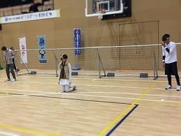 ゴールボール・練習試合