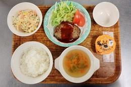 H291031夕食(ハロウィンメニュー)