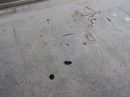 屋外階段防水改修工事 修理前.jpg