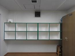 脱衣室の棚 修理完了.JPG