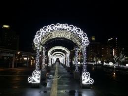 函館駅のイルミネーション.JPG