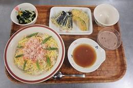 2017年12月9日の昼食写真