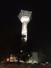 五稜郭タワー(通常の白ライトアップ).JPG